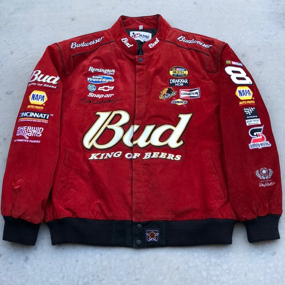 Dale Earnhardt Jr Chase Authentics Leather Jacket